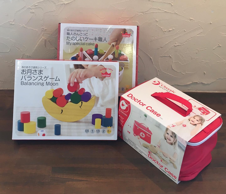 おもちゃいろいろ入荷しましたよ!2歳さん〜3歳さんにおすすめ編