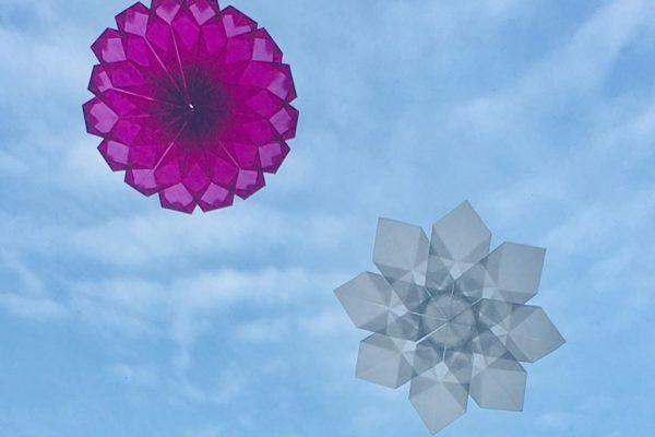 光を通す折り紙 トランスパレントペーパー のご紹介