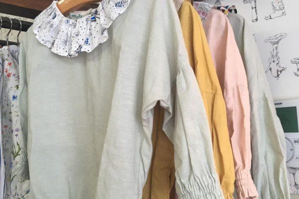 tiku tiku405さんから、春のお洋服が届いてますよ🌷お洋服売場の衣替えもしました