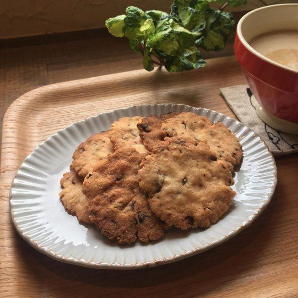 うさぎさんクッキーと、米粉キャロブチップスクッキーが焼きあがりましたよ🍪