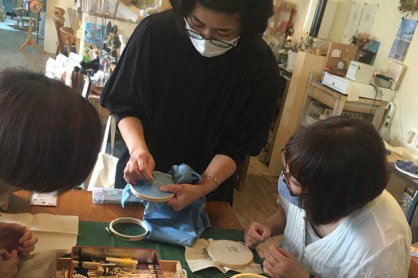 刺繍の会を開催しました🎶