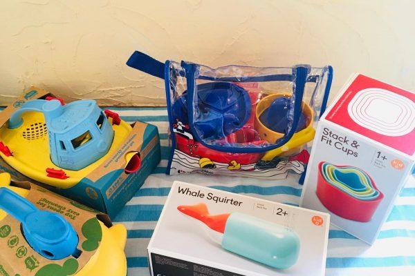 お風呂遊び・水遊びにおすすめなおもちゃのご紹介🎶