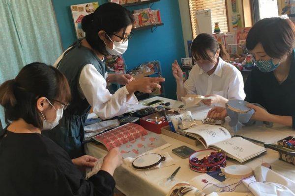 kani ja neula 刺繍の会vol.3レポート