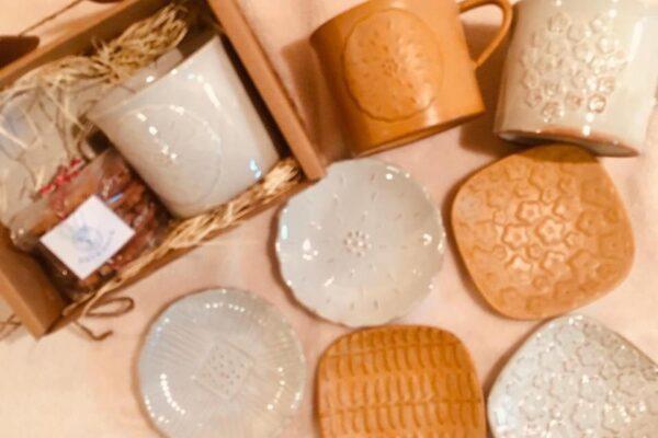 イブキクラフトさんのマグカップと小皿のご紹介✨