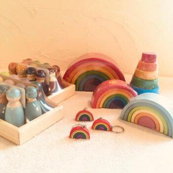グリムス社の虹色シリーズが入荷しましたよ🌈