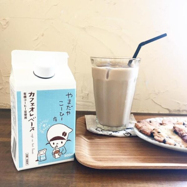 山田屋珈琲店さんのカフェオレベース、取り扱いを始めました✨