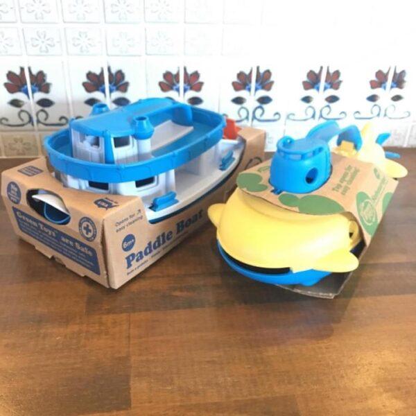 水遊びに!潜水艦とタグボートはいかがですか?